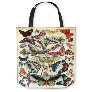 Unique Shoulder Bag Tote Bags   Madame Memento Butterflies Collection