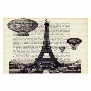 Decorative Floor Coverings | Madame Memento Eifel Tower
