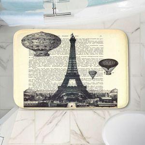 Decorative Bathroom Mats | Madame Memento - Eifel Tower