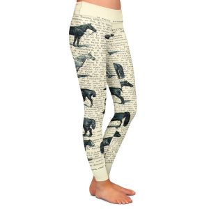 Casual Comfortable Leggings | Madame Memento - Horse Breeds