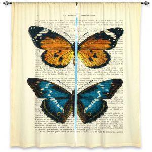 Decorative Window Treatments | Madame Memento Monarch Butterflies