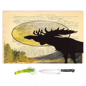 Artistic Kitchen Bar Cutting Boards | Madame Memento - Moose Moon