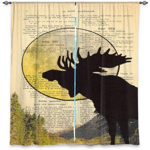 Decorative Window Treatments | Madame Memento - Moose Moon