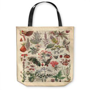 Unique Shoulder Bag Tote Bags   Madame Memento - Plant Chart   nature earth flower