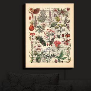 Nightlight Sconce Canvas Light | Madame Memento - Plant Chart