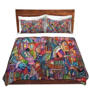 Artistic Duvet Covers and Shams Bedding | Maeve Wright - Almost Venitian