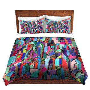 Artistic Duvet Covers and Shams Bedding | Maeve Wright - Cathedral City