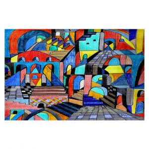 Decorative Floor Coverings | Maeve Wright Eschers Citidel