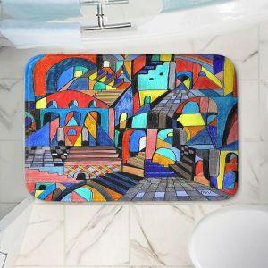Decorative Bathroom Mats | Maeve Wright - Eschers Citidel