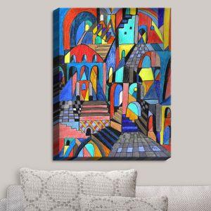 Decorative Canvas Wall Art | Maeve Wright - Eschers Citidel