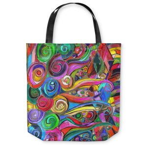 Unique Shoulder Bag Tote Bags | Maeve Wright Rainbow Fragment