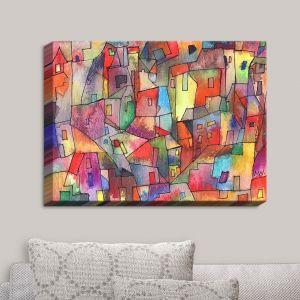 Decorative Canvas Wall Art   Maeve Wright - Rainbowville