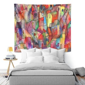 Artistic Wall Tapestry | Maeve Wright Rainbowville