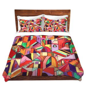 Artistic Duvet Covers and Shams Bedding | Maeve Wright - The Ice Cream Colored Citidel