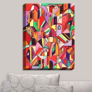 Decorative Canvas Wall Art | Maeve Wright - The Ice Cream Colored Citidel