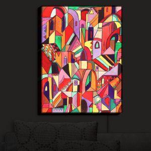 Nightlight Sconce Canvas Light | Maeve Wright's The Ice Cream Colored Citidel