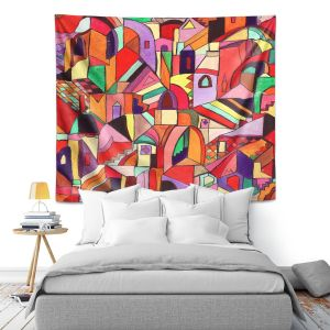 Artistic Wall Tapestry | Maeve Wright The Ice Cream Colored Citidel