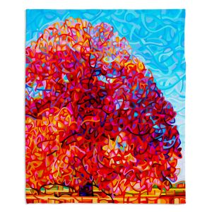 Decorative Fleece Throw Blankets | Mandy Budan - Buddha Tree