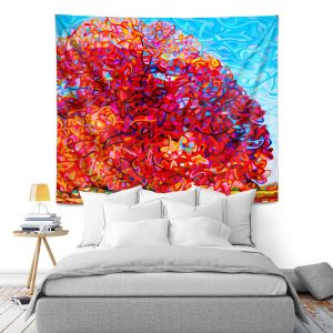Artistic Wall Tapestry | Mandy Budan Buddha Tree