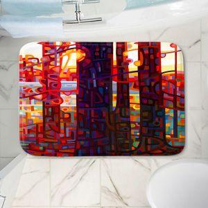 Decorative Bathroom Mats | Mandy Budan - Carnelian Morning