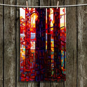 Unique Bathroom Towels | Mandy Budan - Carnelian Morning