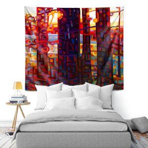 Artistic Wall Tapestry | Mandy Budan Carnelian Morning