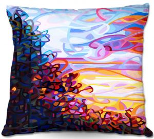 Decorative Outdoor Patio Pillow Cushion | Mandy Budan - Crescendo