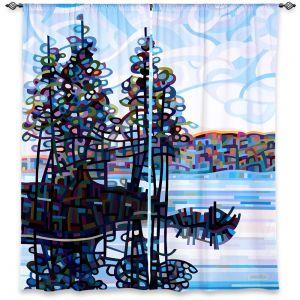 Decorative Window Treatments | Mandy Budan Haliburton Morning