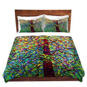 Artistic Duvet Covers and Shams Bedding | Mandy Budan - Kaleidoscope