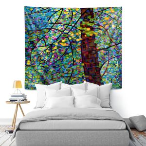 Artistic Wall Tapestry | Mandy Budan Pine Sprites