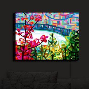 Nightlight Sconce Canvas Light | Mandy Budan - Salmon Ridge | nature landscape surreal abstract