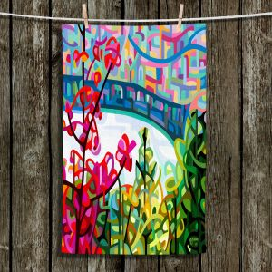 Unique Hanging Tea Towels | Mandy Budan - Salmon Ridge | nature landscape surreal abstract