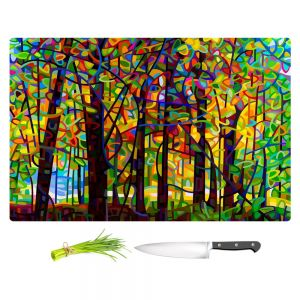 Artistic Kitchen Bar Cutting Boards | Mandy Budan - Standing Room Only