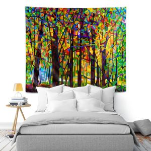 Artistic Wall Tapestry | Mandy Budan Standing Room Only