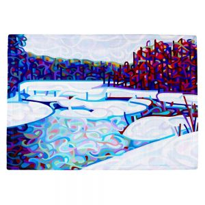 Decorative Kitchen Placemats 18x13 from DiaNoche Designs by Mandy Budan - Thaw