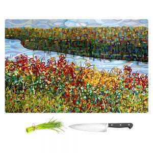 Artistic Kitchen Bar Cutting Boards | Mandy Budan - The River