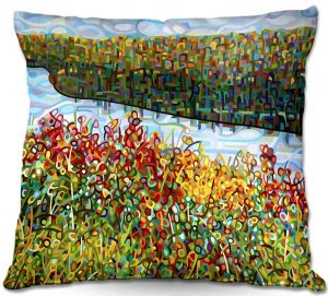 Throw Pillows Decorative Artistic | Mandy Budan's The River