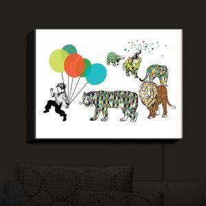 Nightlight Sconce Canvas Light | Marci Cheary - Animal Parade