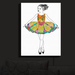 Nightlight Sconce Canvas Light | Marci Cheary - Ballerina 3