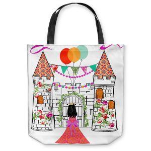Unique Shoulder Bag Tote Bags | Marci Cheary - Castle | Princess Prince Party