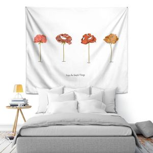 Artistic Wall Tapestry | Marci Cheary Enjoy the Simple Things