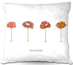 Throw Pillows Decorative Artistic | Marci Cheary Enjoy the Simple Things