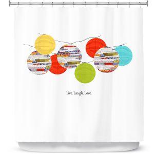 Premium Shower Curtains | Marci Cheary Lanterns