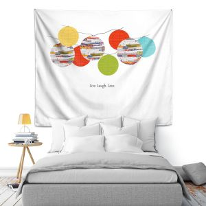 Artistic Wall Tapestry | Marci Cheary Lanterns