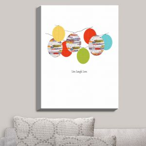 Decorative Canvas Wall Art | Marci Cheary - Lanterns