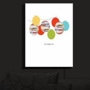 Nightlight Sconce Canvas Light | Marci Cheary - Lanterns | Lanterns Inspiring Patterns