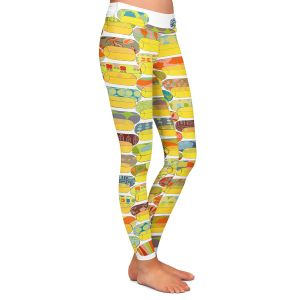 Casual Comfortable Leggings   Marci Cheary - Ovals