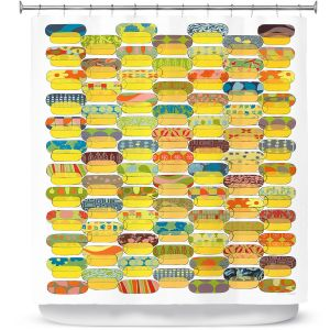 Premium Shower Curtains | Marci Cheary - Ovals