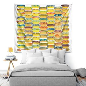 Artistic Wall Tapestry | Marci Cheary - Ovals