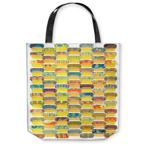 Unique Shoulder Bag Tote Bags | Marci Cheary - Ovals